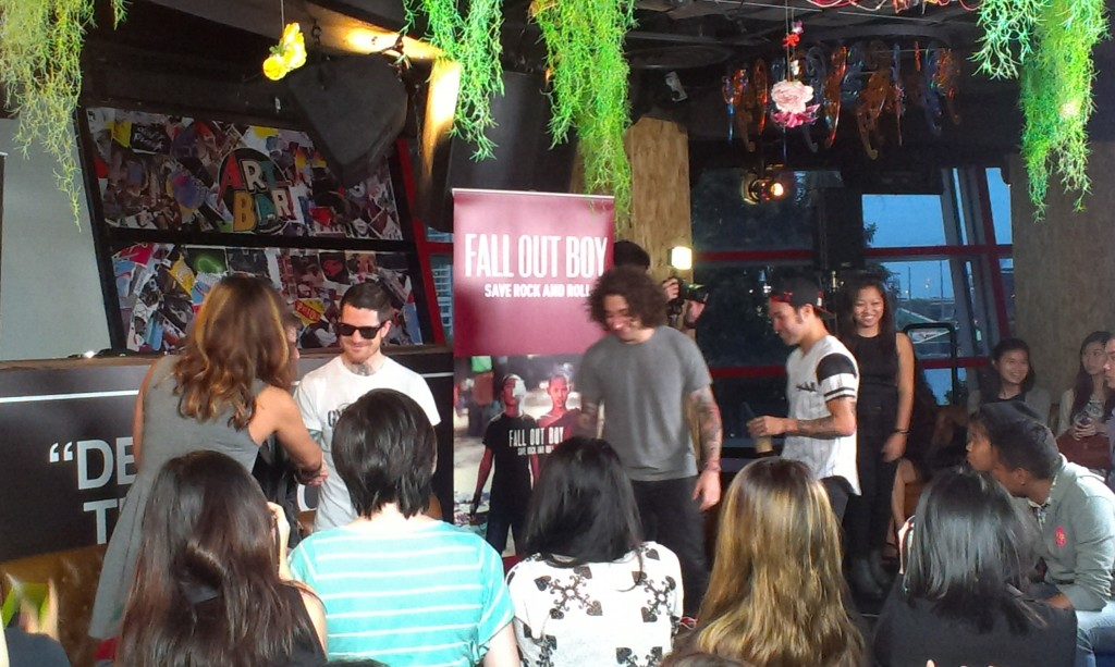 Fall Out Boy at the Art Bar