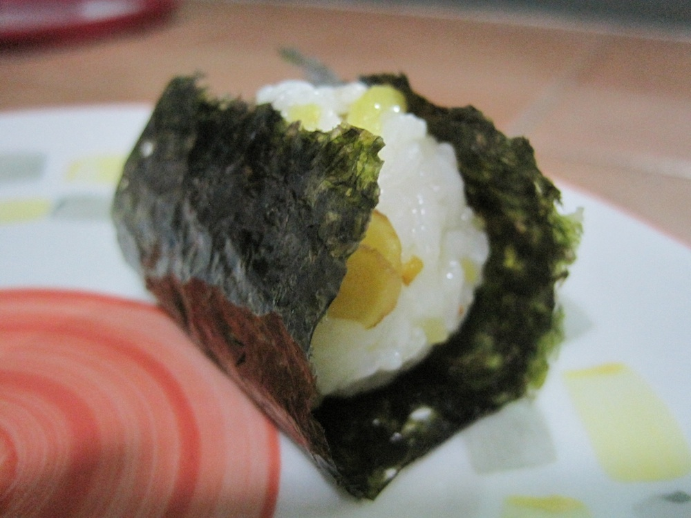 Homemade Mini Onigiri (Japanese rice ball)