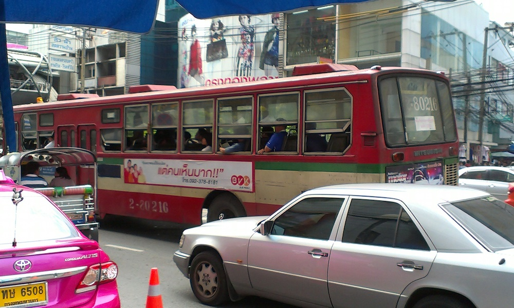 Bus in Bangkok, Thailand