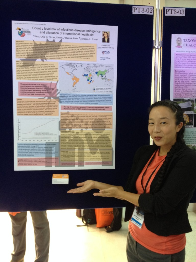 Me and my poster at the 18th Biological Sciences Graduate Congress