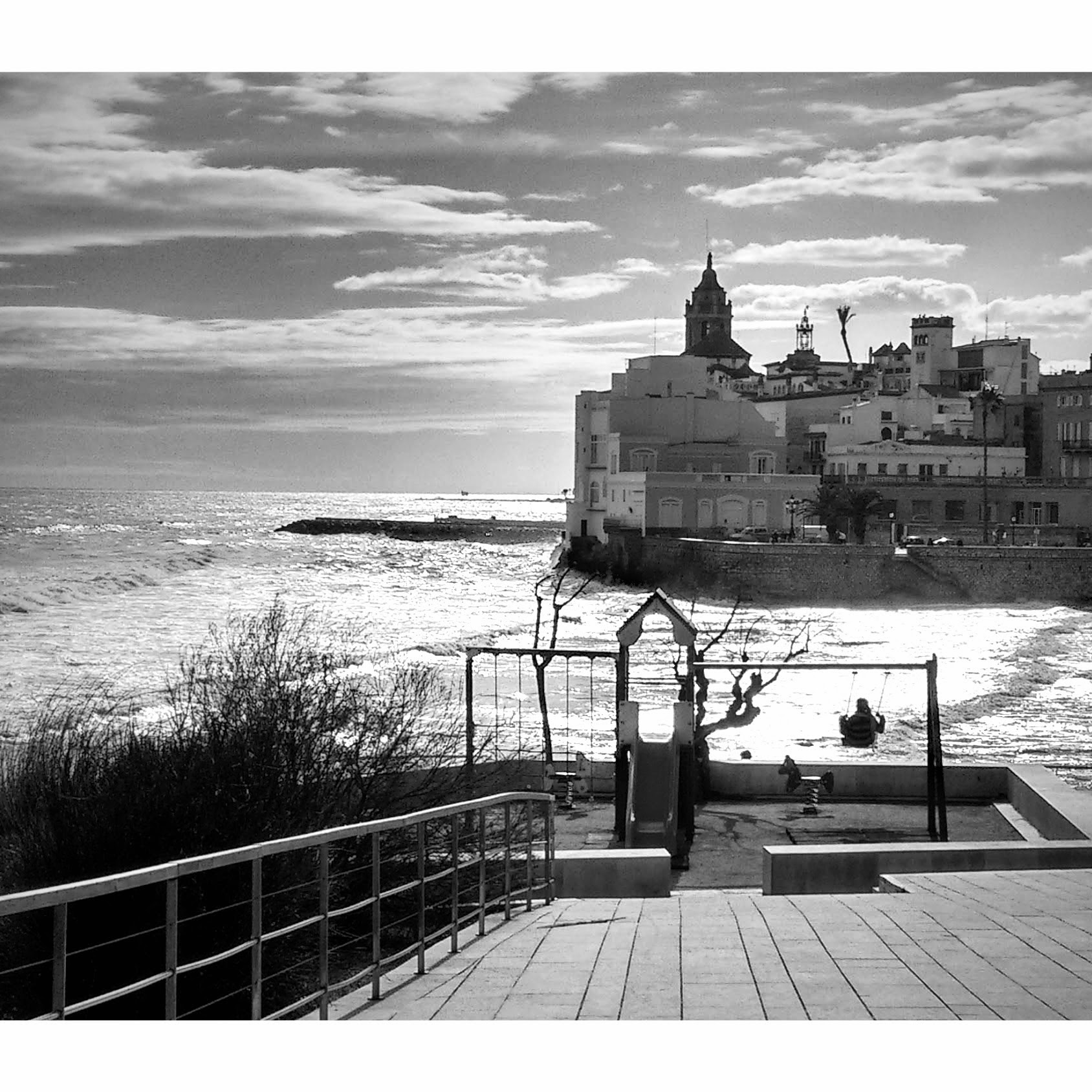 Sitges in the Spring
